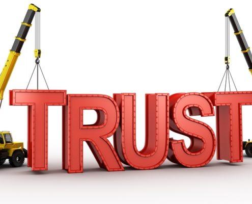 ایجاد اعتماد در مشتریان