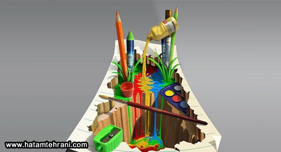 افزایش فروش با نقاشی سه بعدی