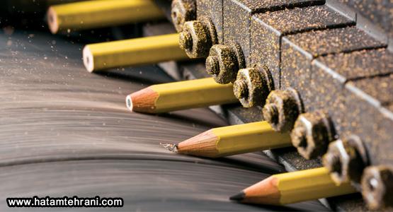 تولید مداد
